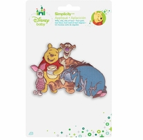 Disney's Winnie the Pooh and Friends Iron On Applique