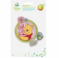 Disney's Winnie the Pooh, and Piglet Iron On Applique