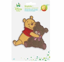 Disney's Winnie the Pooh and Teddy Bear Iron On Applique