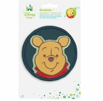 Disney's Winnie the Pooh, Smiling Iron On Applique