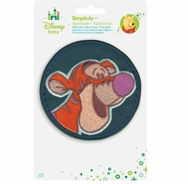 Disney's Winnie The Pooh, Tigger Circle Iron-On Applique