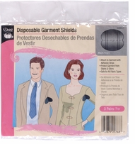 Disposable Garment Shields Black