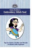 DMC Books Emma Broidery's Embroidery Stitch Tool