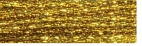 DMC Light Effects Floss 8.7 Yards Dark Gold #E3852