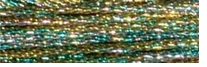 DMC Light Effects Floss 8.7 Yards Golden Dawn #E135