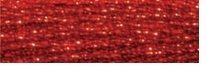 DMC Light Effects Floss 8.7 Yards Red Ruby #E321