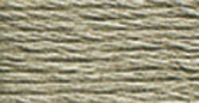 DMC Six Strand Embroidery Floss Cone Beaver Grey Medium #647