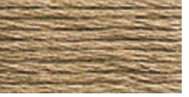 DMC Six Strand Embroidery Floss Cone Beige Brown Light #841