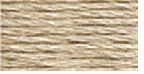 DMC Six Strand Embroidery Floss Cone Beige Brown Very Light #842