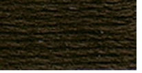 DMC Six Strand Embroidery Floss Cone Black Brown #3371