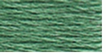 DMC Six Strand Embroidery Floss Cone Blue Green #502