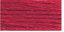 DMC Six Strand Embroidery Floss Cone Christmas Red #321