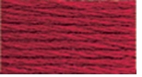 DMC Six Strand Embroidery Floss Cone Christmas Red Dark #498