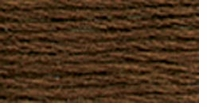 DMC Six Strand Embroidery Floss Cone Coffee Brown Very Dark #898