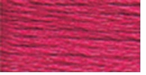 DMC Six Strand Embroidery Floss Cone Cranberry Dark #601