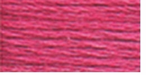DMC Six Strand Embroidery Floss Cone Cranberry Medium #602