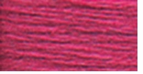 DMC Six Strand Embroidery Floss Cone Cyclamen Pink Dark #3804