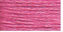 DMC Six Strand Embroidery Floss Cone Cyclamen Pink Light #3806
