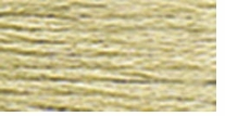 DMC Six Strand Embroidery Floss Cone Drab Brown Very Light #613