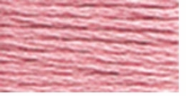 DMC Six Strand Embroidery Floss Cone Dusty Rose Light #3354