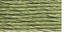 DMC Six Strand Embroidery Floss Cone Fern Green #522