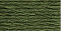 DMC Six Strand Embroidery Floss Cone Fern Green Dark #520