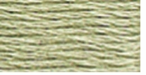 DMC Six Strand Embroidery Floss Cone Fern Green Very Light #524