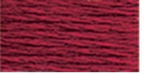 DMC Six Strand Embroidery Floss Cone Garnet Medium #815