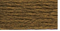 DMC Six Strand Embroidery Floss Cone Golden Olive Very Dark #829