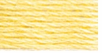 DMC Six Strand Embroidery Floss Cone Golden Yel #3078