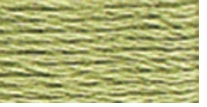 DMC Six Strand Embroidery Floss Cone Green Grey #3053