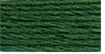 DMC Six Strand Embroidery Floss Cone Hunter Green Very Dark #895
