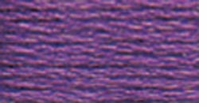 DMC Six Strand Embroidery Floss Cone Lavender Ultra Dark #3837