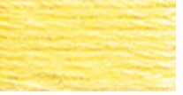 DMC Six Strand Embroidery Floss Cone Lemon Light #445