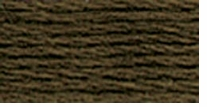 DMC Six Strand Embroidery Floss Cone Mocha Brown Very Dark #3031
