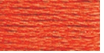 DMC Six Strand Embroidery Floss Cone Orange Bright #608