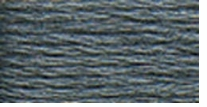 DMC Six Strand Embroidery Floss Cone Pewter Grey #317