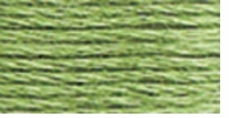 DMC Six Strand Embroidery Floss Cone Pistachio Green Light #368