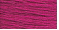 DMC Six Strand Embroidery Floss Cone Plum #718