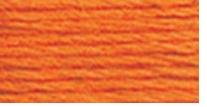DMC Six Strand Embroidery Floss Cone Pumpkin Light #970