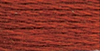 DMC Six Strand Embroidery Floss Cone Red Copper #919