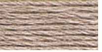 DMC Six Strand Embroidery Floss Cone Shell Grey Medium #452