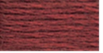 DMC Six Strand Embroidery Floss Cone Shell Pink Very Dark #224