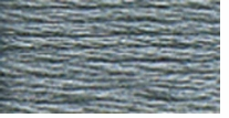 DMC Six Strand Embroidery Floss Cone Steel Grey Dark #414