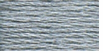 DMC Six Strand Embroidery Floss Cone Steel Grey Light #318