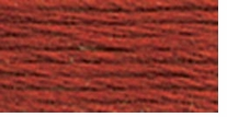 DMC Six Strand Embroidery Floss Cone Terra Cotta Dark #355