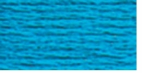 DMC Six Strand Embroidery Floss Cone Turquoise Dark Bright #3844
