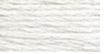 DMC Six Strand Embroidery Floss Cone White #W