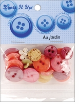 Dress It Up Au Jardin Buttons Au Jardin