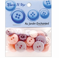 Dress It Up Au Jardin Buttons Enchanted